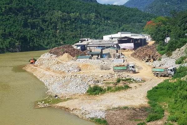 Thanh Hóa: Đã tháo dỡ ngàn m2 lấn chiếm sông Mã