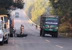 Đâm vào xe tải tại đường tránh Nam Hải Vân, 2 thanh niên nguy kịch