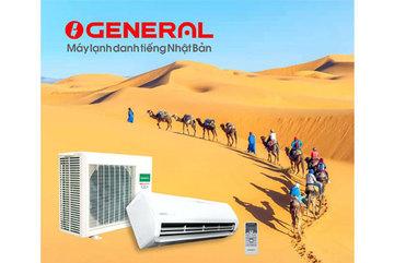 General vẫn mát khi nhiệt độ môi trường lên tới 52 độ