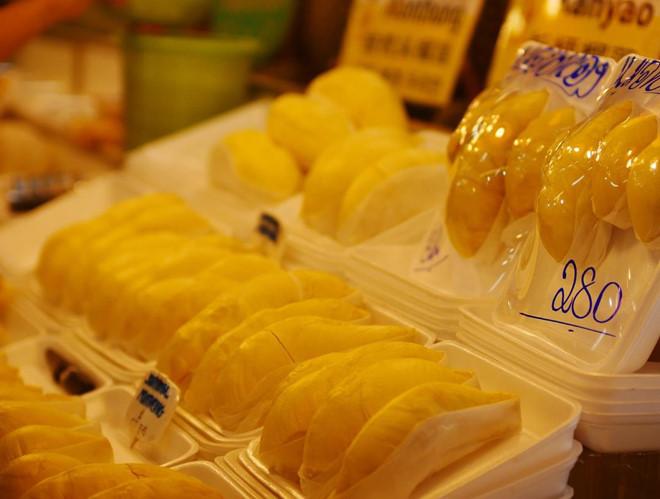 Ẩm thực Thái Lan,Sầu riêng,hoa quả ngoại