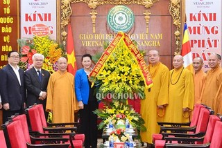 Vesak 2019 helps to promote Vietnam's image: NA Chairwoman