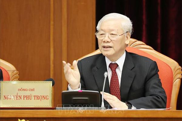 Tổng bí thư,Chủ tịch nước,Nguyễn Phú Trọng,Hội nghị Trung ương 10,Trung ương 10,Đại hội 13