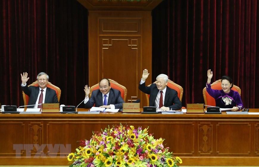 Tổng bí thư,Chủ tịch nước,Nguyễn Phú Trọng,hội nghị Trung ương,Trung ương 10