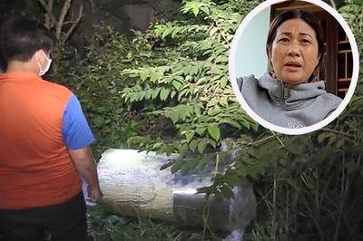 Giây phút phát hiện 2 xác người trong thùng nhựa chứa bê tông