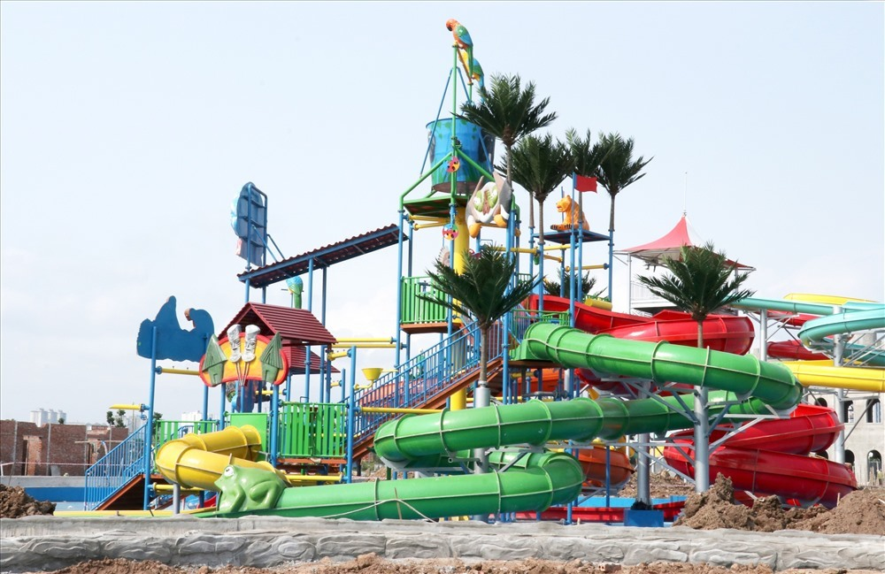 Hanoi's biggest water park to debut next month,entertainment news,what's on,Vietnam culture,Vietnam tradition,vn news,Vietnam beauty,Vietnam news,vietnamnet news,vietnamnet bridge,Vietnamese newspaper,Vietnam latest news,Vietnamese newspaper articles,news