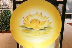 Impressive lotus paintings on display for UN Day of Vesak 2019 celebrations