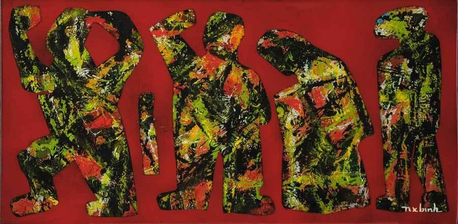 Triển lãm đương đại 'Niệm' của 4 hoạ sĩ