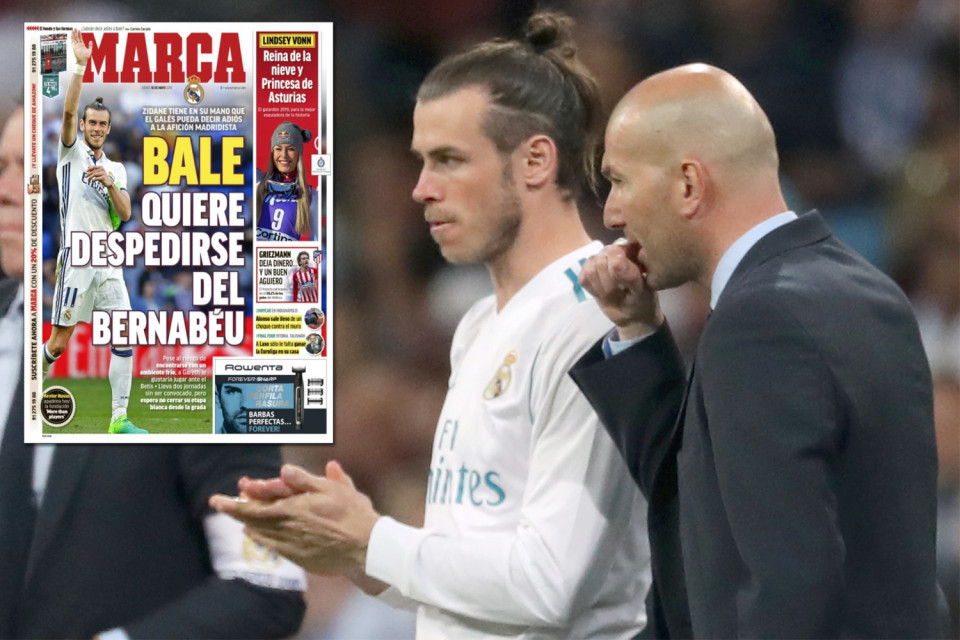 Gareth Bale,Real Madrid,Zidane