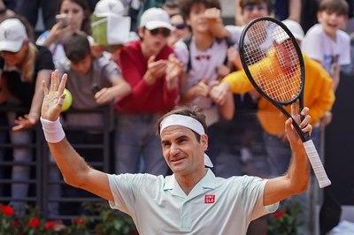"""Federer, Nadal và Djokovic """"dắt tay nhau"""" vào vòng 3 Rome Masters"""