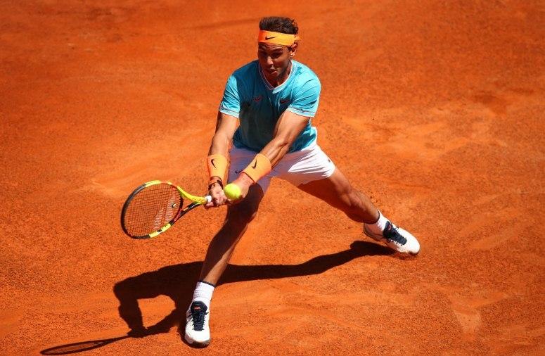 Rome Masters: Federer, Nadal và Djokovic thẳng tiến tứ kết