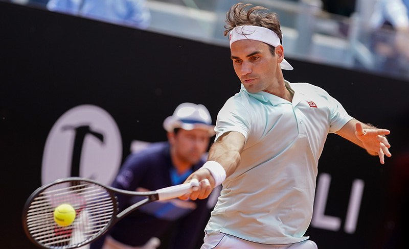 Rome Masters 2019,Nadal,Federer
