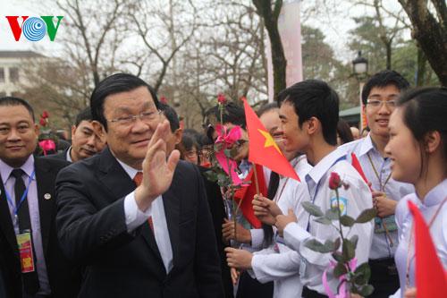 nguyên Chủ tịch nước,Trương Tấn Sang,công tác cán bộ