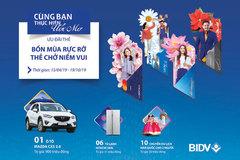 Hàng loạt ưu đãi mùa hè cho chủ thẻ BIDV