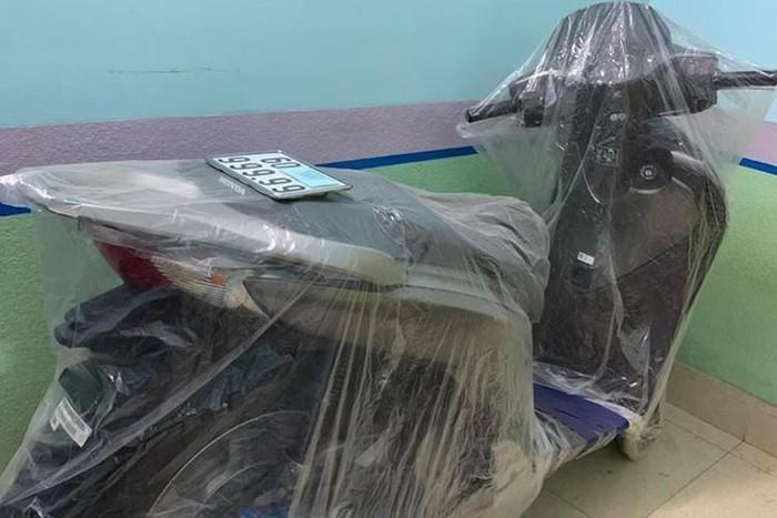 Loạt xe máy biển số đẹp giá siêu đắt tuần qua