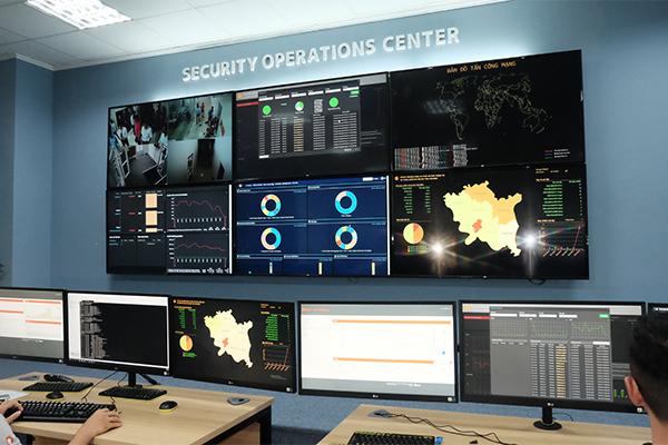Khám phá Trung tâm điều hành an ninh mạng cấp tỉnh quy mô nhất Việt Nam