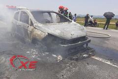 Vụ cháy ô tô Ford Eco Sport: Có rơm cuốn gầm xe