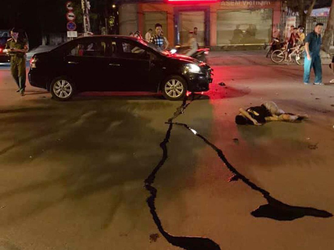 Nghệ An: Tài xế say xỉn tông 2 học sinh nhập viện