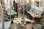 Khủng khiếp núi phế thải hôi thối trên tàu điện ngầm ở Mỹ