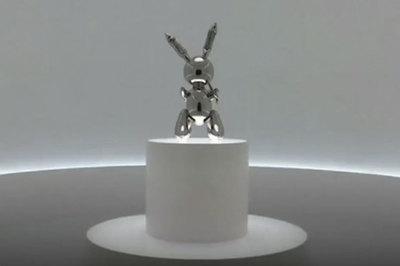 Có gì đặc biệt ở tượng thỏ bằng thép giá hàng chục triệu đô?