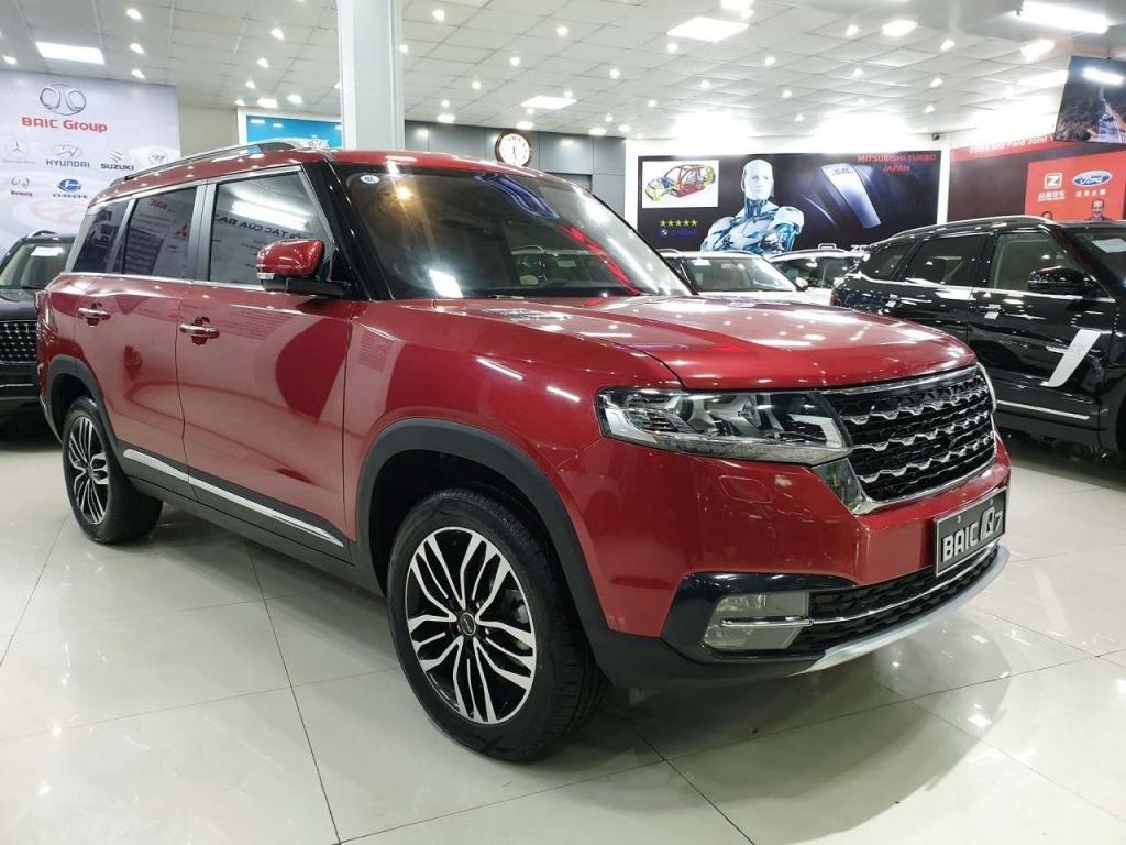 ô tô,xe Trung Quốc,xe tầu,BAIC Q7