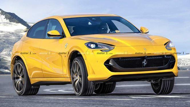 Siêu SUV đầu tiên của Ferrari lộ diện