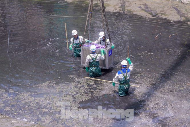Hanoi starts To Lich River cleanup with Japanese technology