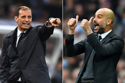 "Juventus chia tay Allegri, muốn ""cướp"" Pep Guardiola"