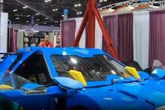 Xe biến hình thành robot cao gần 4 m như trong phim Transformers