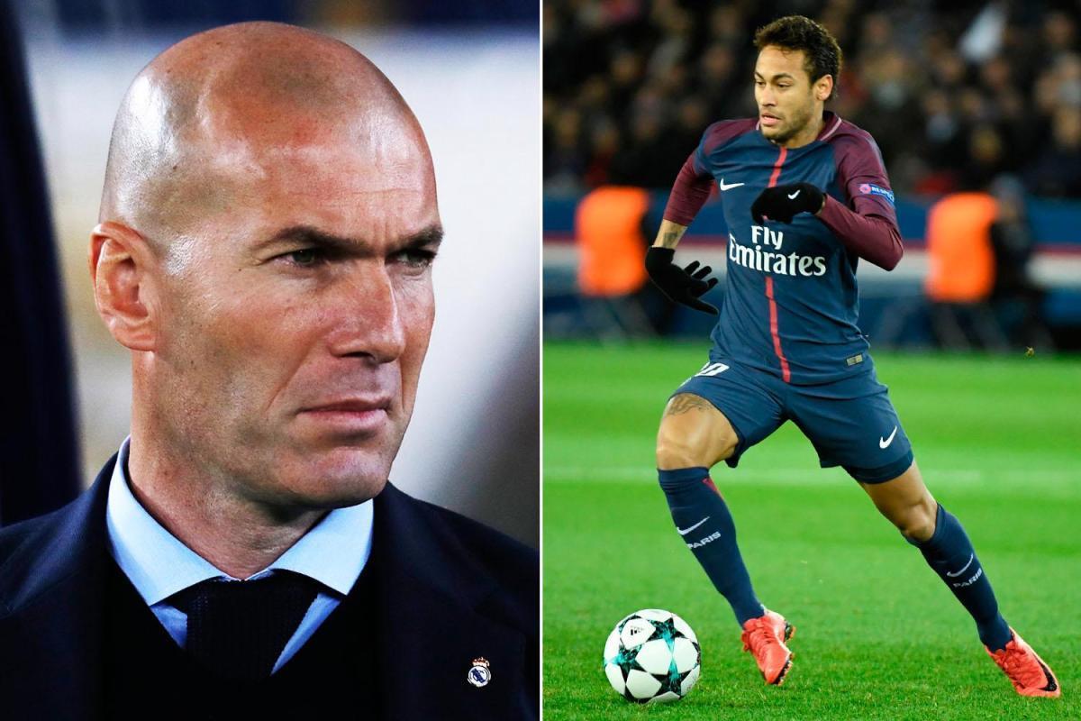 MU,De Ligt,Zinedine Zidane,Real Madrid,Neymar