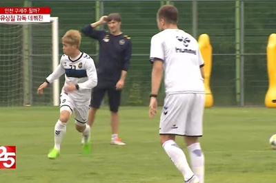 Công Phượng tập cực sung, quyết đổi vận ở K-League