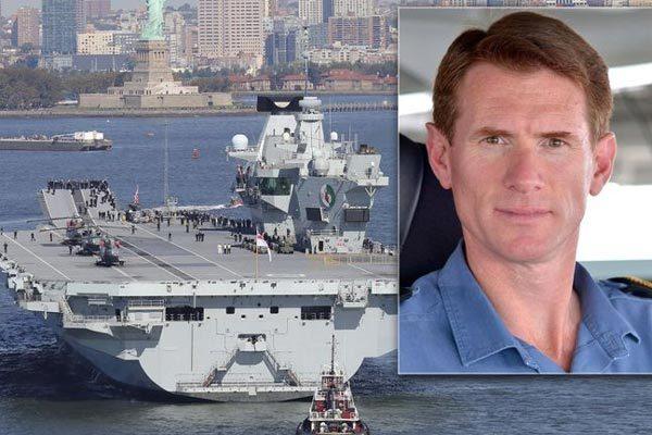 Anh,hải quân Anh,tàu sân bay,lạm dụng xe công,mất chức
