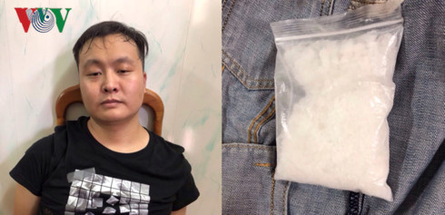 Chinese drug trafficker arrested in Mong Cai