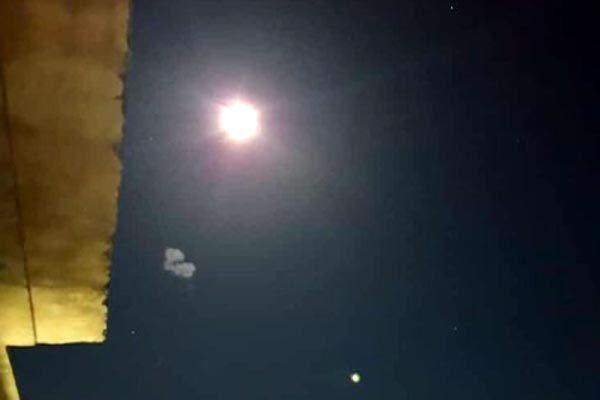 Syria,Israel,phòng không,vật thể bay phát sáng,Cao nguyên Golan