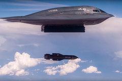 Máy bay tàng hình Mỹ thả siêu bom giữa căng thẳng với Iran