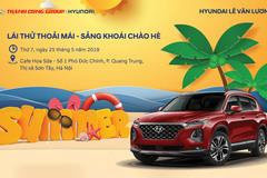 Chương trình Lái thử xe tại Sơn Tây cùng Hyundai Lê Văn Lương