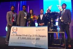 Startup thuần Việt đầu tiên vô địch thế giới, giành giải thưởng 1 triệu USD