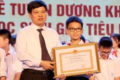 Hơn 1.000 học sinh giỏi tiêu biểu Thủ đô được tuyên dương khen thưởng