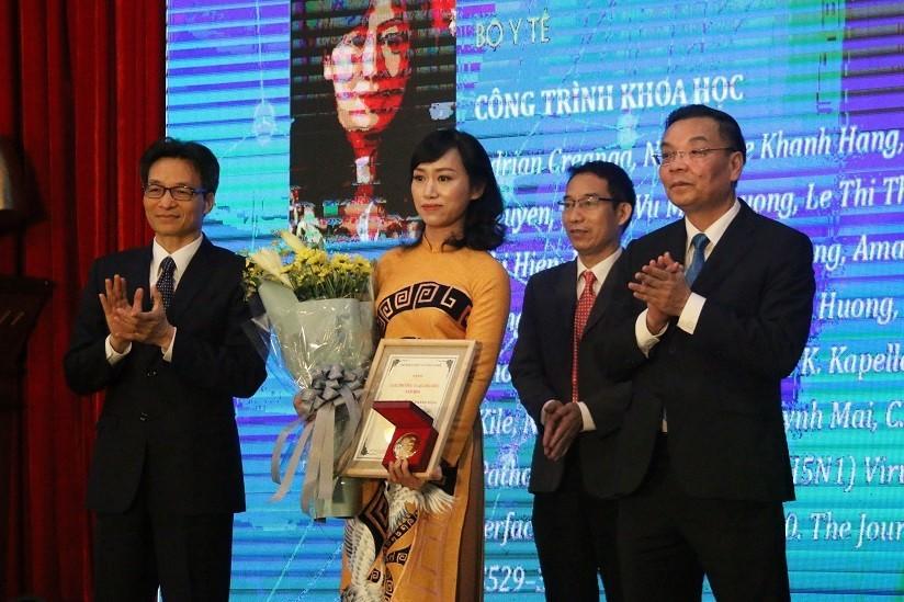 Trao giải thưởng Tạ Quang Bửu năm 2019 cho 3 nhà khoa học xuất sắc