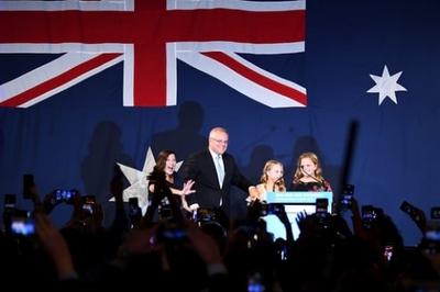 Thủ tướng Australia tái đắc cử sau chiến thắng khó tin