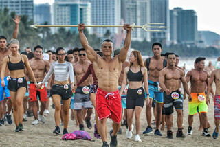 HCM city athletes come first in national beach fitness tournament