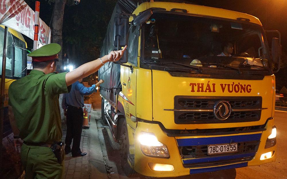 CSGT,xe quá tải,Đà Nẵng