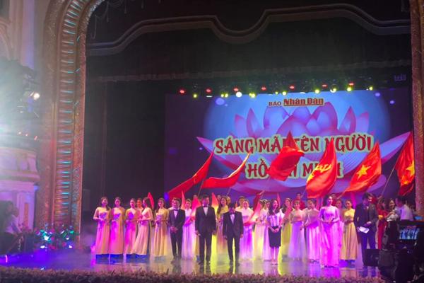 Đặc sắc chương trình nghệ thuật 'Sáng mãi tên Người - Hồ Chí Minh'