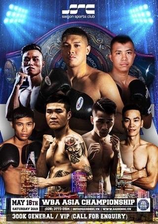 Vietnamese boxers to box at WBA Asia Championship
