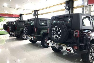 """Ô tô bán tải """"mất"""" giá, hàng loạt """"ông lớn"""" đồng loạt hạ giá xe hơi"""