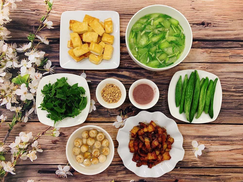 Mâm cơm,Món ăn mùa hè,Món ngon mỗi ngày