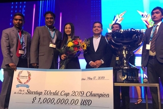 Vietnamese startup wins Startup World Cup 2019 Champion