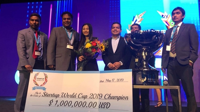 Vietnamese startup wins Startup World Cup 2019 Champion