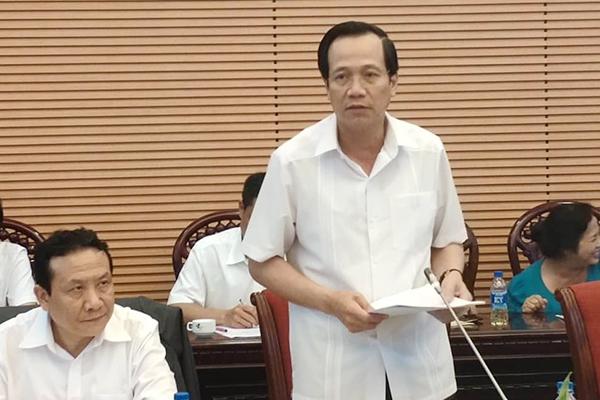 Đào Ngọc Dung,Bộ luật Lao động,Bộ trưởng LĐ-TB-XH,tăng tuổi hưu