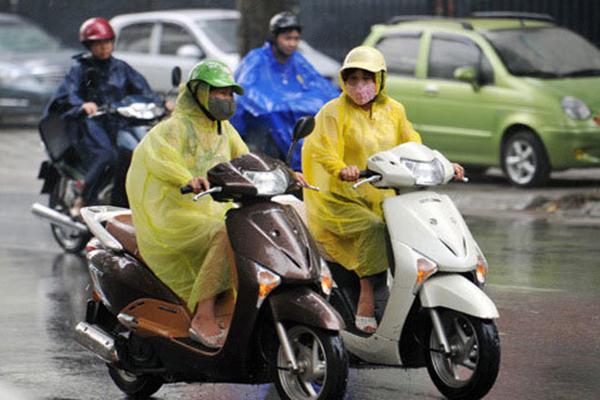Dự báo thời tiết, Thời tiết hôm nay, Miền bắc mưa dông
