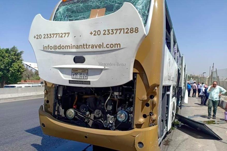 Xe buýt chở du khách bị tấn công gần kim tự tháp Giza